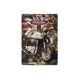 Union Jack Metal Sign