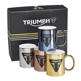Metallic Mug Set of 4
