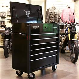 Triumph Special Edition Snap-on Toolbox