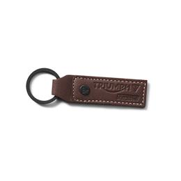 LEATHER KEYRING OXBLOOD